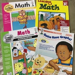 4 math books for little ones